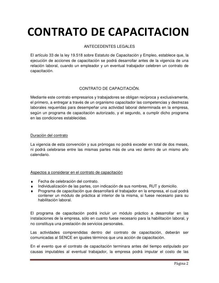 Ejemplo De Contrato