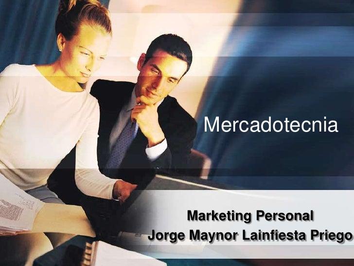 Ejemplo De Marketing Personal