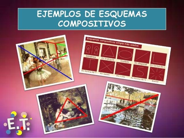 EJEMPLOS DE ESQUEMAS COMPOSITIVOS