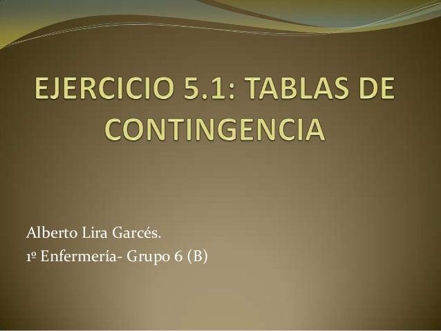 Alberto Lira Garcés.1º Enfermería- Grupo 6 (B)