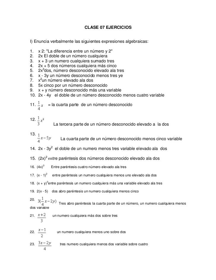 Ejercicios de  matematicas  sara y mildred