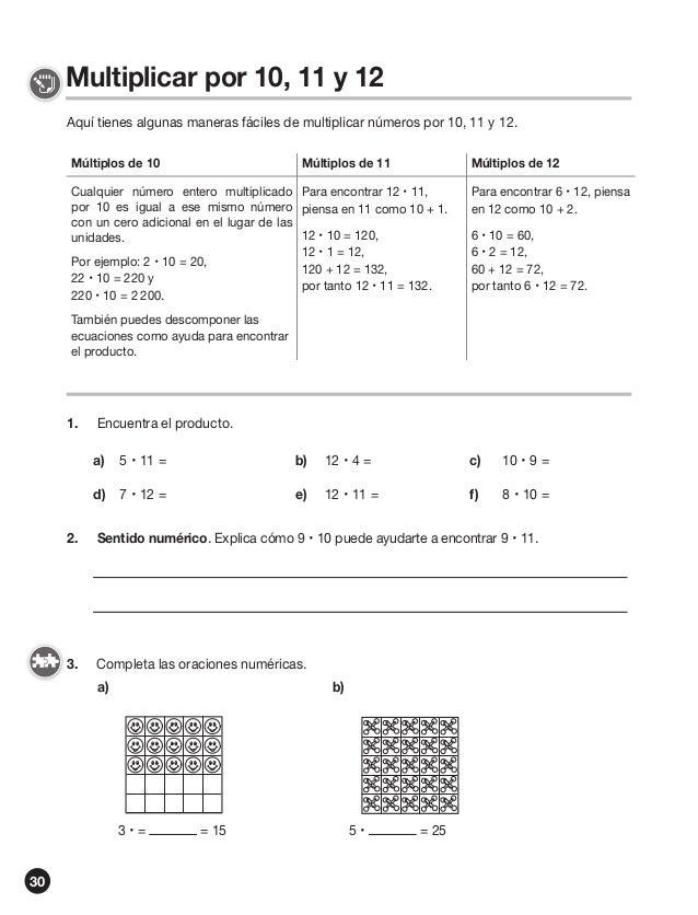 Ejercicios de matematicas tareas