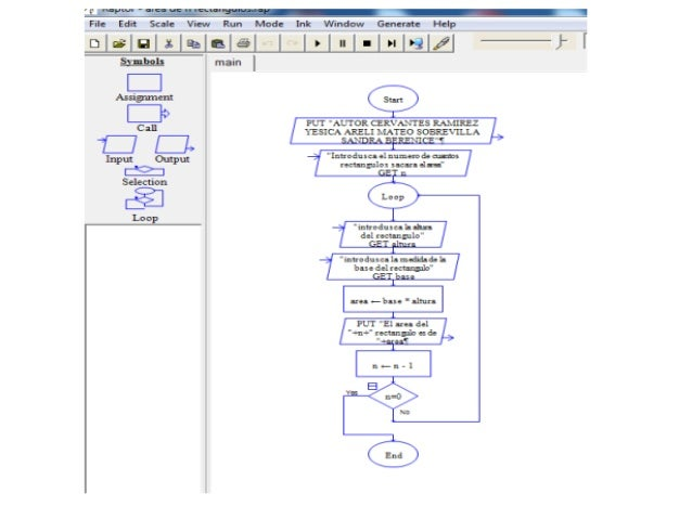 "LÉLÉIL""  File Edit Scale VÍEIN rRun Mode Ink VVmdow Generate Help  Dig XÉBÉ"" ' e mainl   _:I Asnglman   : *>  Cal  Ü  Inpu..."