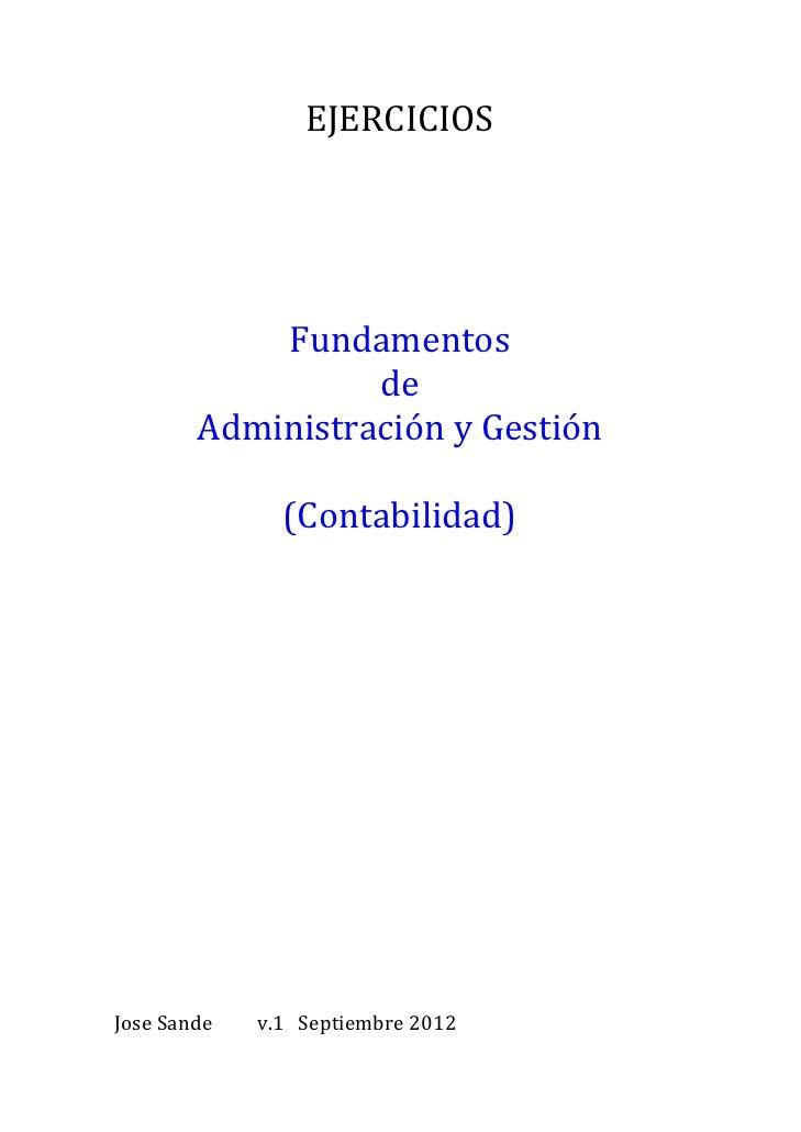 Ejercicios FAG (contabilidad)