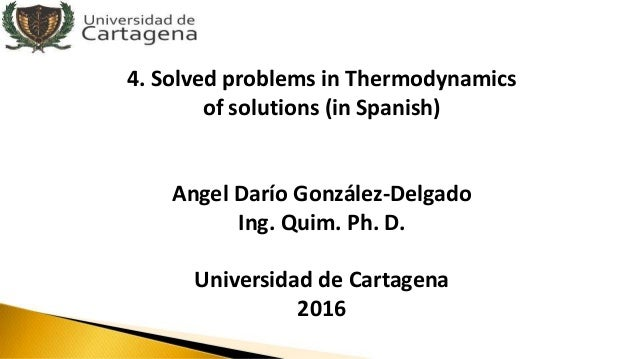 thermodynamics problems and solutions pdf