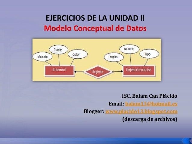 ISC. Balam Can Plácido          Email: balam13@hotmail.esBlogger: www.placido13.blogspot.com               (descarga de ar...