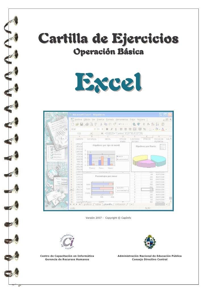 Ejercicios Excel Básico