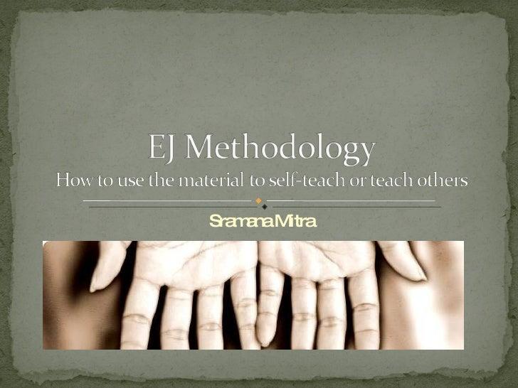 EJ Methodology [old version]
