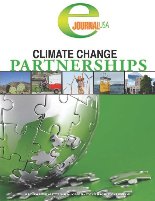 E journal climate change partnerships