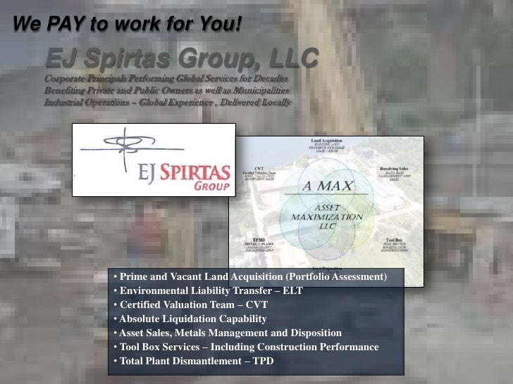 EJ Spirtas Group, LLC - The AMAX Difference!