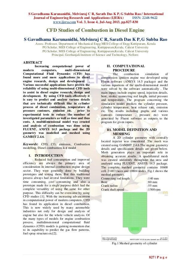 S Gavudhama Karunanidhi, Melvinraj C R, Sarath Das K P, G Subba Rao / International Journal of Engineering Research and Ap...