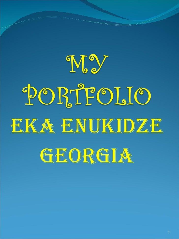 Eka`s  Portfolio