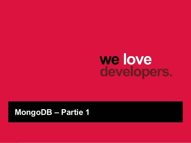 MongoDB - Ekino PHP