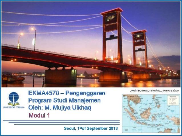Jembatan Ampera, Palembang, Sumatera Selatan Seoul, 1stof September 2013