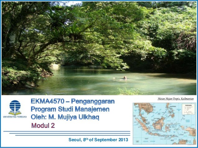 EKMA4570 -  Penganggaran - Modul 2