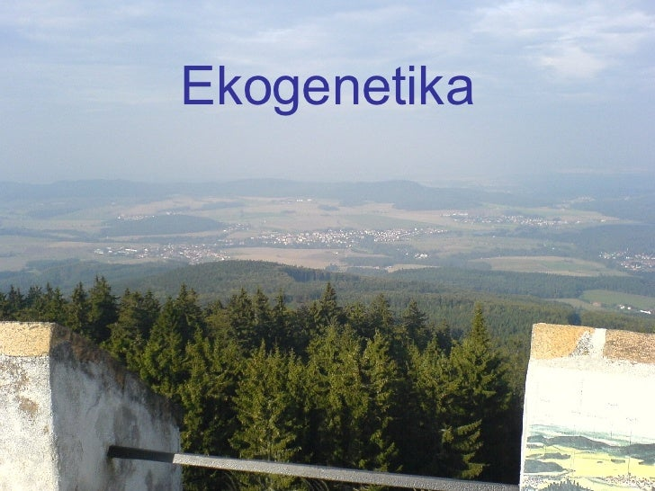 Ekogenetika
