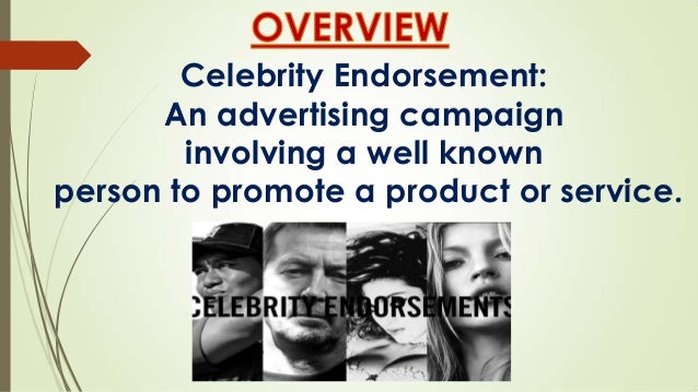 how effective are celebrity endorsements Study shows non-celebrity endorsements are rising do celebrity endorsements still matter for marketing blogger than a celebrity the effective was even.