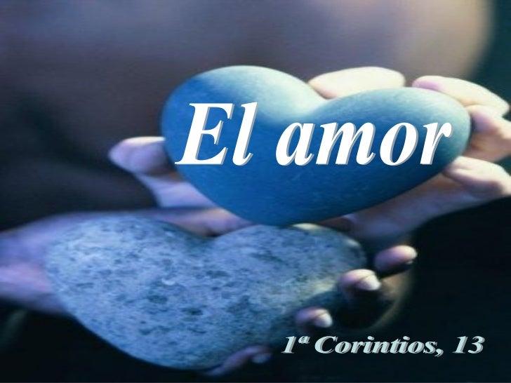 El amor (Corintios)
