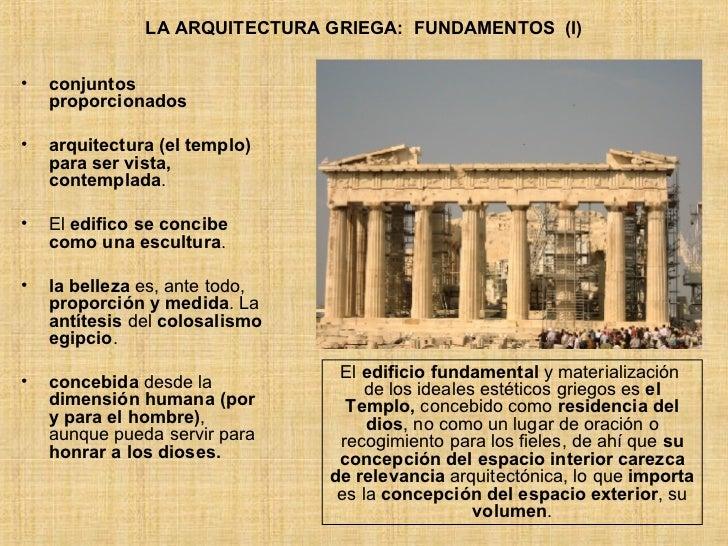 Estudiandosocialesestoy el mundo griego for Que es arte arquitectura