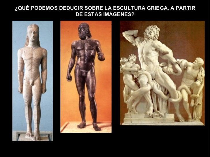 Escultura Griega Caracteristicas Sobre la Escultura Griega