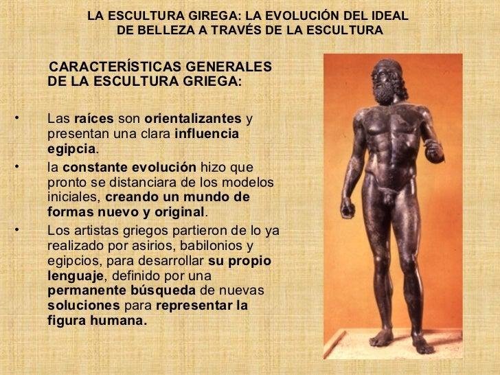 Escultura Griega Caracteristicas de la Escultura Griega