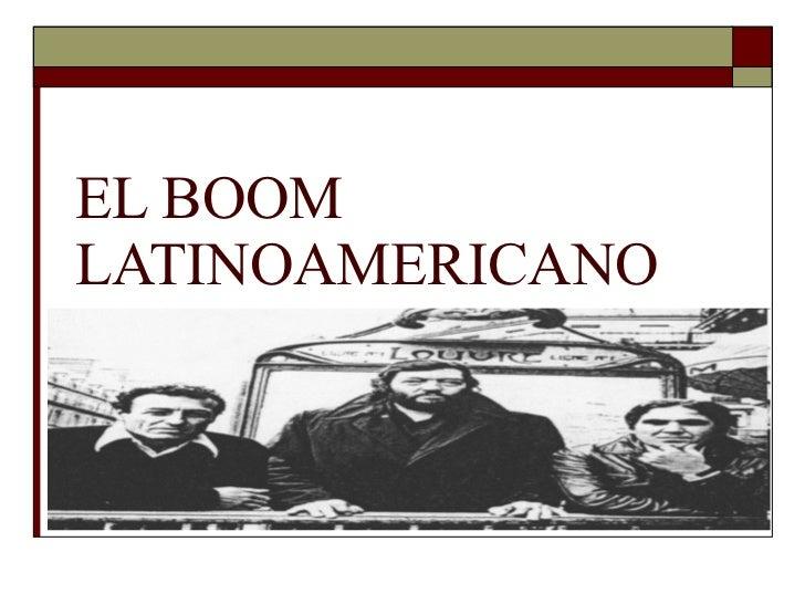 El boom-latinoamericano