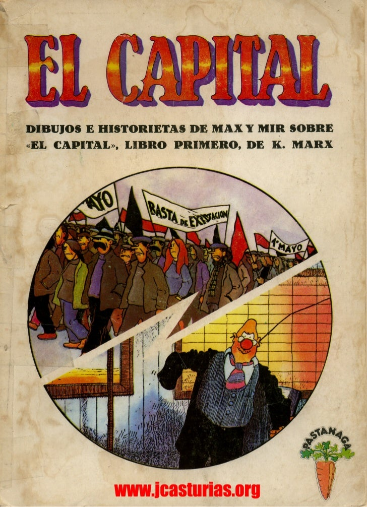 El Capital 1.Karl Marx.Cómic