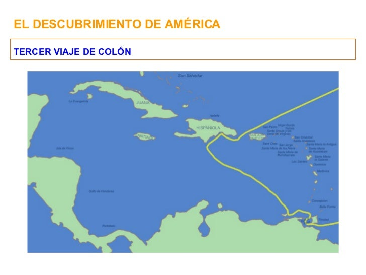 El descubrimiento de america for Cuarto viaje de colon