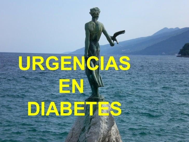 URGENCIAS EN  DIABETES