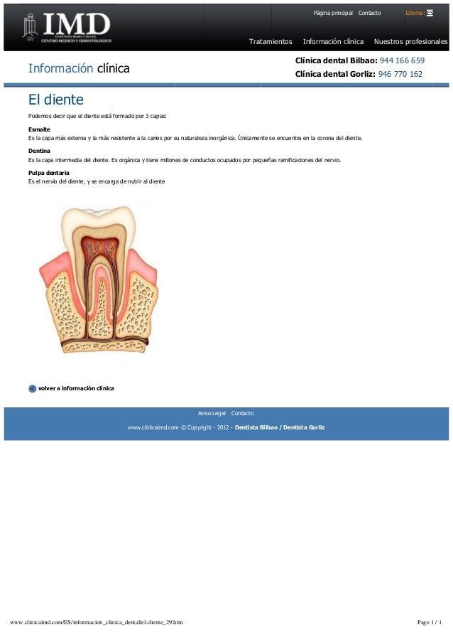 Cl nica dental imd el diente for Clinica dental el escorial