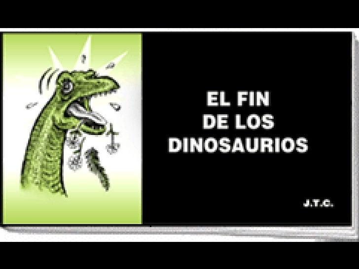 el fin de los dinosaurios