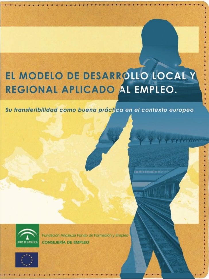 El Modelo De Desarrollo Local Y Regional Aplicado Al Empleo