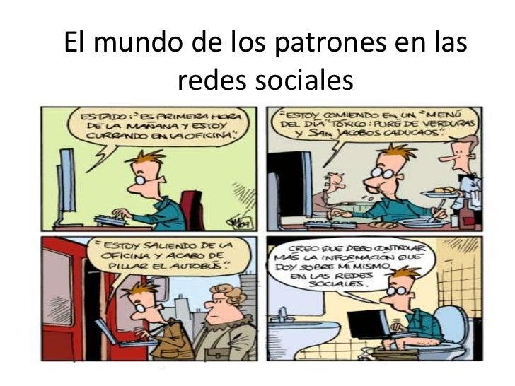 El mundo de los patrones en las redes sociales<br />