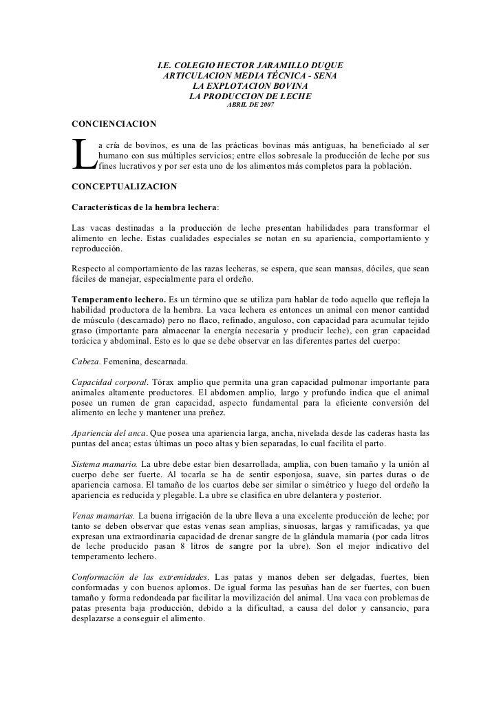 I.E. COLEGIO HECTOR JARAMILLO DUQUE                          ARTICULACION MEDIA TÉCNICA - SENA                            ...