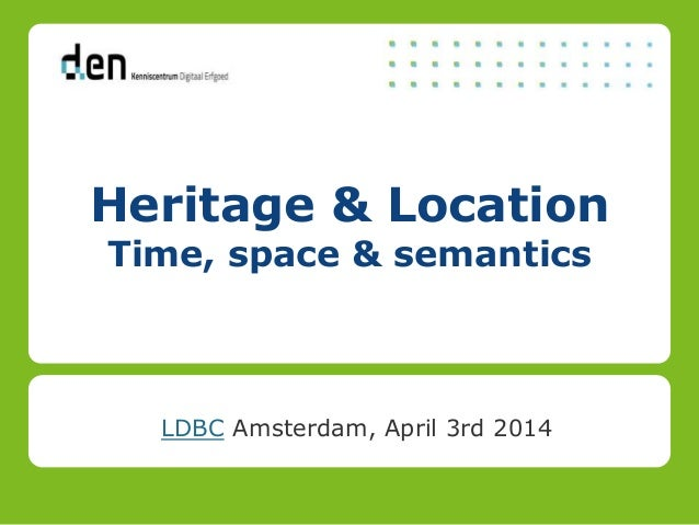 E&L-presentatie - Linked Data Benchmark Council
