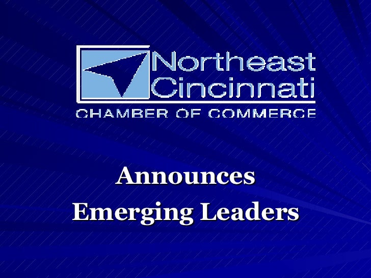 Announces Emerging Leaders