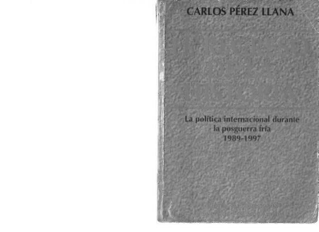 El regreso de la historia la politica internacional for La politica internacional