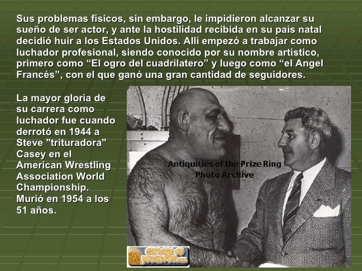 Sherk el ogro es real murio en 1954 - Taringa!