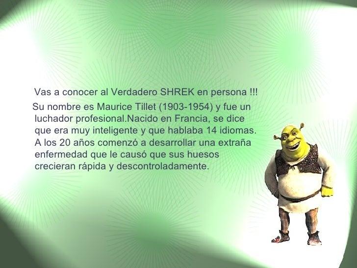 El Verdadero Shrek Cosasdivertidas