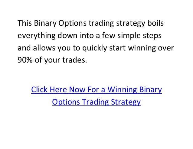 Binary options winning software