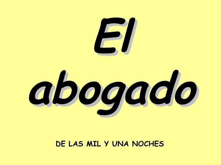 Elabogado(muy bueno)