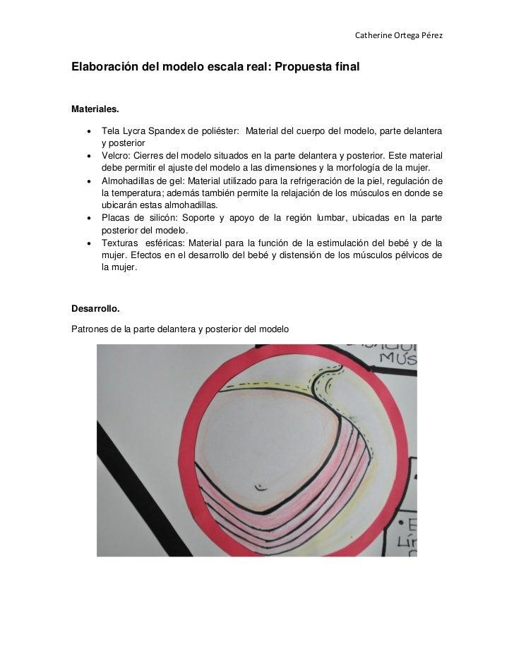 Elaboración del modelo ortegacatherine