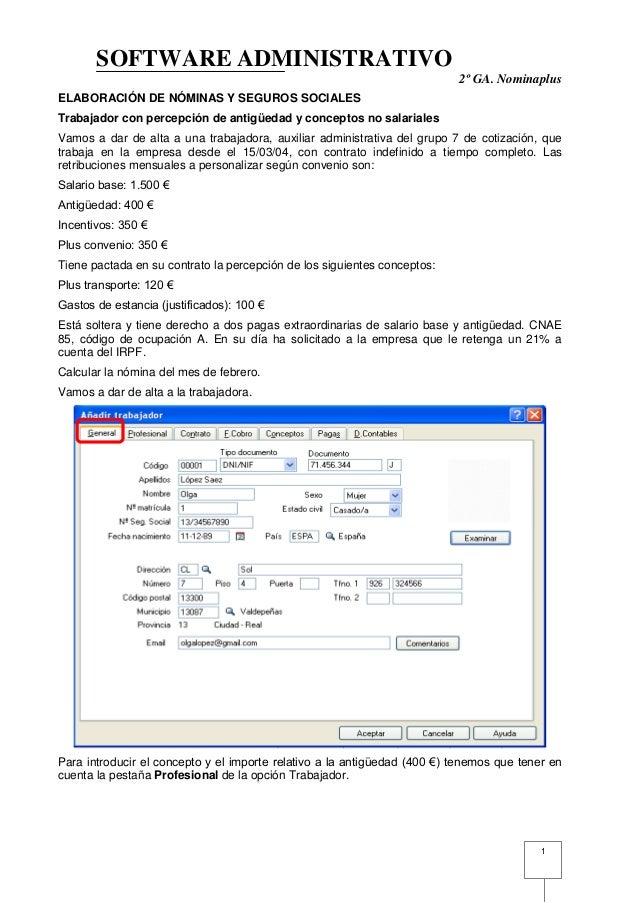 Elaboraci n n minas nominaplus for Modelo de nomina en blanco