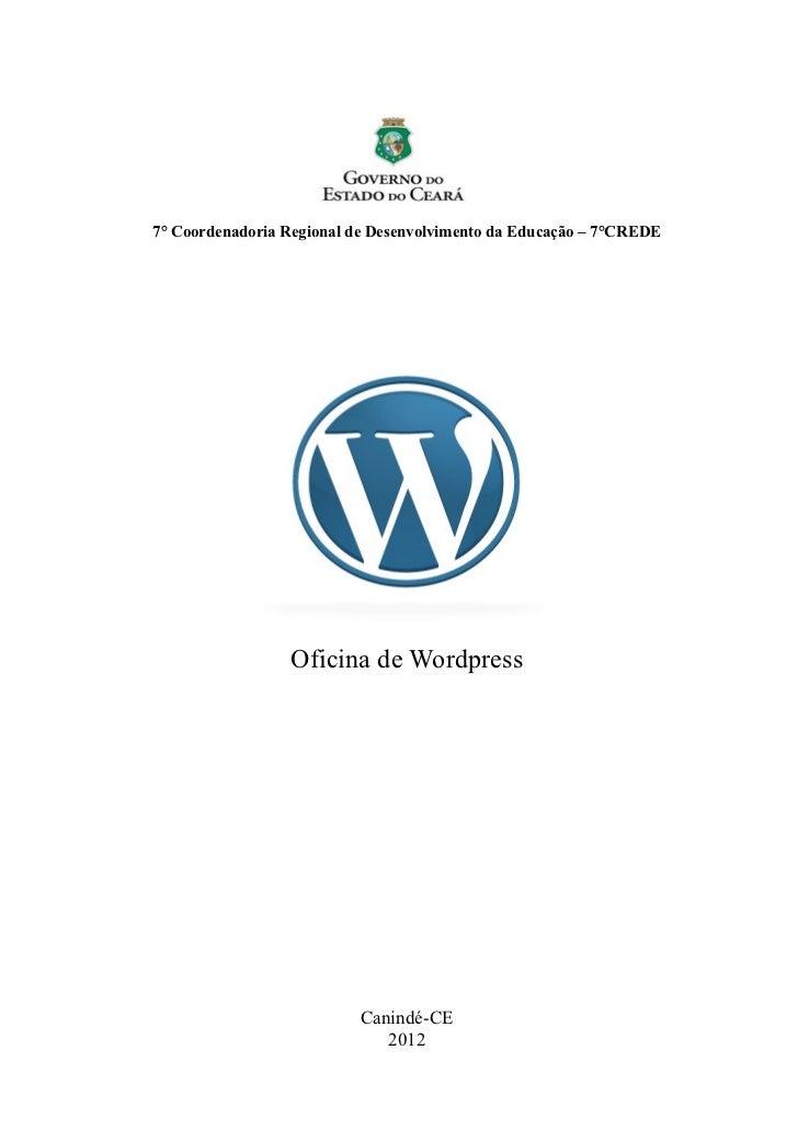 Apostila Wordpress