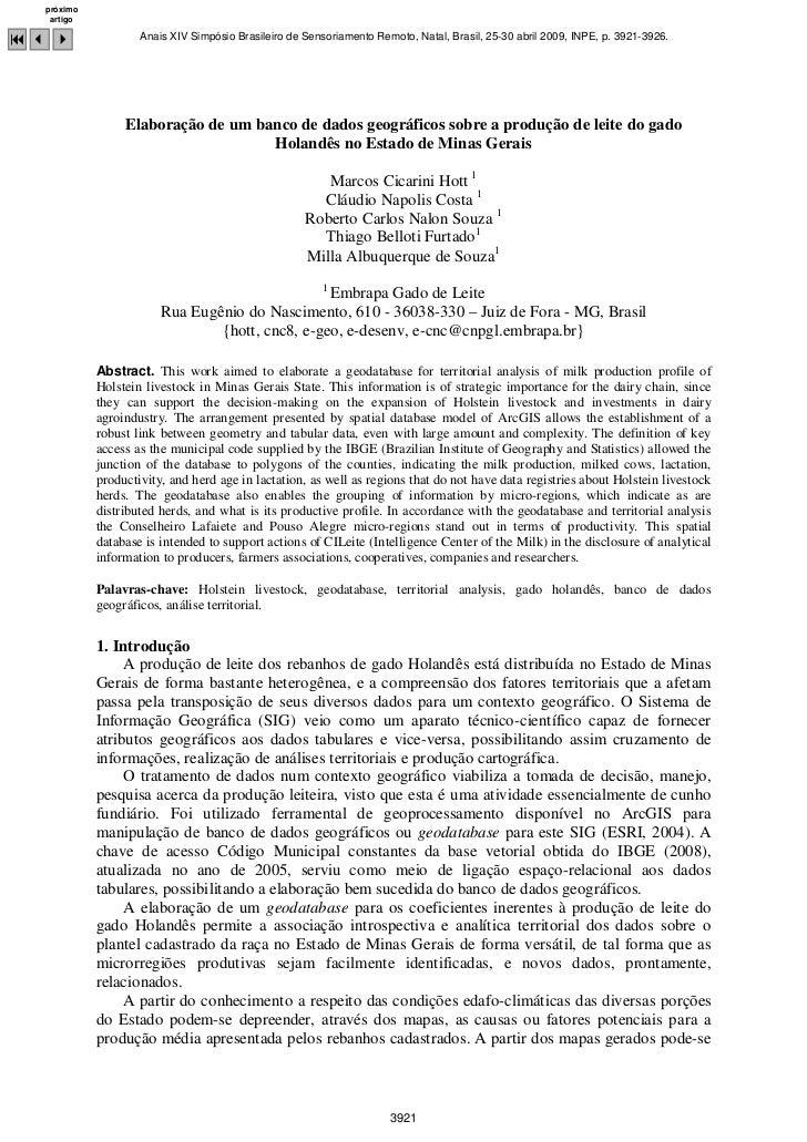 próximo   artigo93 4                Anais XIV Simpósio Brasileiro de Sensoriamento Remoto, Natal, Brasil, 25-30 abril 2009...