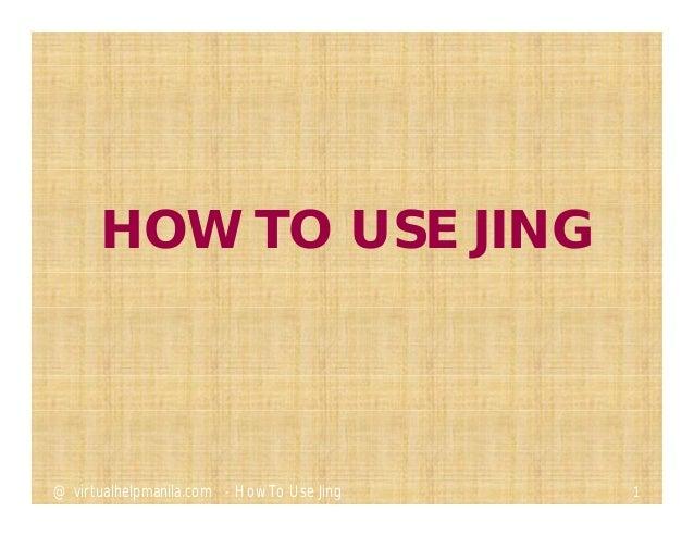Ela carrillo how to use jing