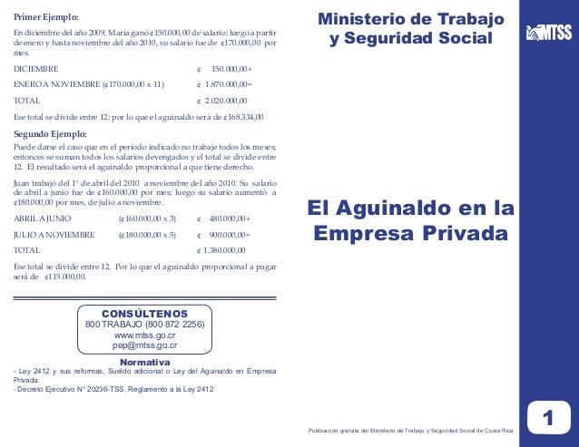 Primer Ejemplo:                                                                                  Ministerio de Trabajo    ...