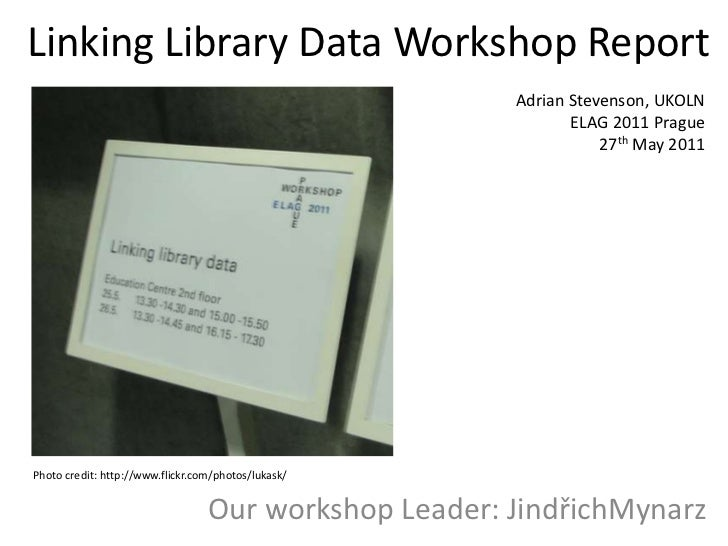Linking Library Data Workshop Report