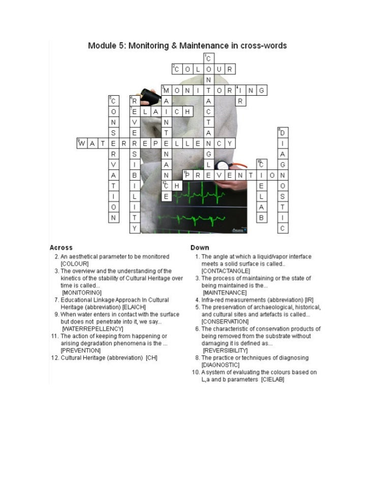 Elaich module 5 crosswords solutions