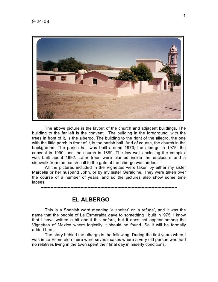 1 9-24-08             The above picture is the layout of the church and adjacent buildings. The building to the far left i...
